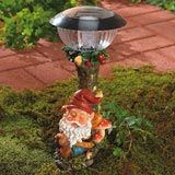 Sleepy Gnome Solar Light