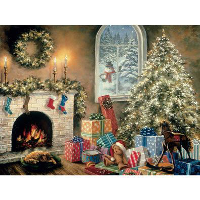 Not A Creature Was Stirring 1000 Piece Glow-In-The-Dark Jigsaw Puzzle