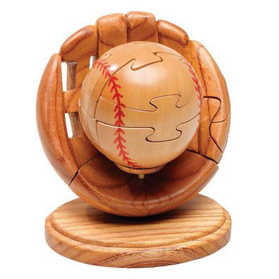 Dimensions In Wood™ Sports Puzzle - Baseball