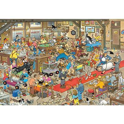 The Dog Show 1500 Piece Jigsaw Puzzle