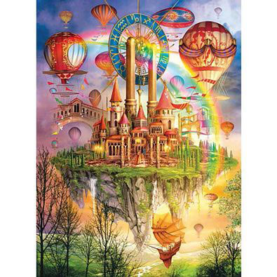 Above The Clouds 1000 Piece Holographic Jigsaw Puzzle