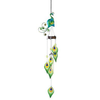 Peacock Wind Chimes