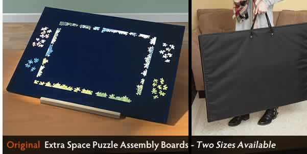 Extra Space Puzzle Assembly Boards